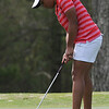 Amira Alexander putts the ball during the 32nd annual Liz Murphey Golf Tournament at the University of Georgia Golf Course on Saturday, April 5, 2014 in Athens, Ga. (Photo by Sean Taylor)