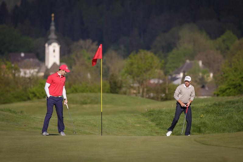 Kärntner Landesmeisterschaft im GC Klagenfurt - Seltenheim, Klagenfurt, Österreich am  2. 5. 2015. Foto: Gerald Fischer