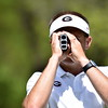 Georgia head coach Josh Brewer during the practice round for the 46h annual Liz Murphey Collegiate Classic on the University of Georgia Golf Course in Athens, Ga., on Thursday, April 12, 2018. (Photo by Steven Colquitt)