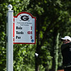 Georgia's Harang Lee during a practice round of the NCAA Regional at the UGA Golf Course in Athens, Ga. on Sunday, May 7, 2017. (Photo by Cory A. Cole)