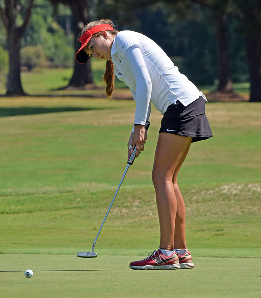 Jillian Hollis - UGA Women's Golf Team (Photo by Steven Colquitt/Georgia Sports Communication)