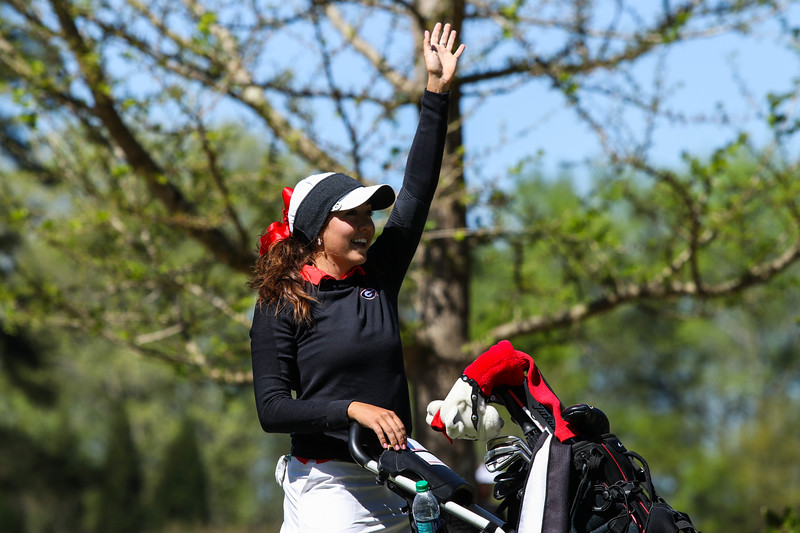 Jillian Hollis - UGA women's golf team (Photo by Cory A. Cole / Georgia Sports Communication)