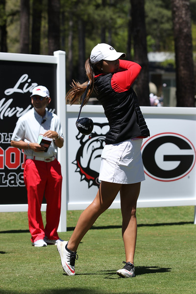 Georgia's Harang Lee during the Liz Murphey Collegiate Classic at the University of Georgia Golf Course in Athens, Ga. on Saturday, April 8, 2017.  (Photo by Cory A. Cole/Georgia Sports Communication)