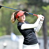 Georgia's Jillian Hollis during the first round of the 46th annual Liz Murphey Collegiate Classic on the University of Georgia Golf Course in Athens, Ga., on Friday, April 13, 2018. (Photo by Steven Colquitt)