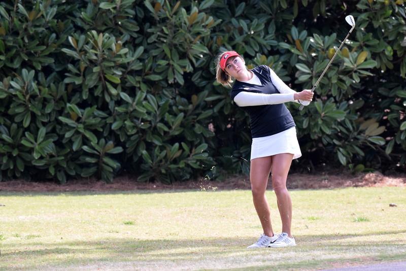 Jillian Hollis (Photo by Steven Colquitt/ Georgia Sports Communication)