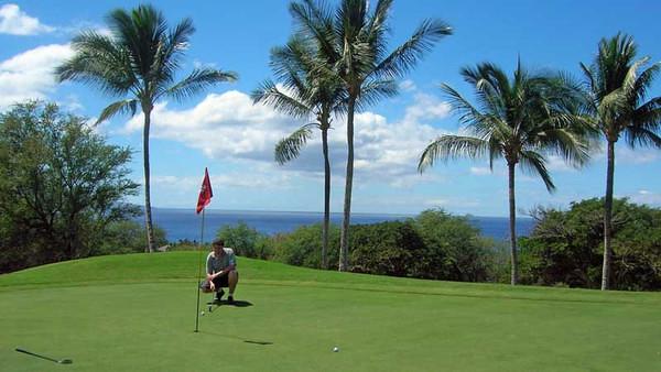 5283 Round of Golf - Wailea Emerald Course