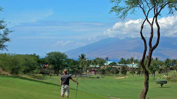 5285 Round of Golf - Wailea Blue Course