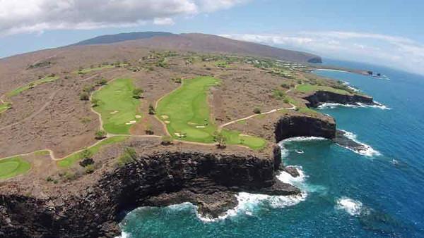 5289 Round of Golf - Manele Bay at Four Seasons