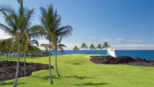5311 Round of Golf - Waikoloa Beach Golf Course
