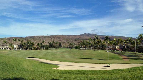 5330 - Round of Golf - Makaha Valley Golf Course