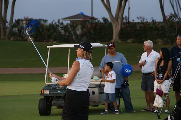 Annika Sorenstam     Golfing Oahu HI