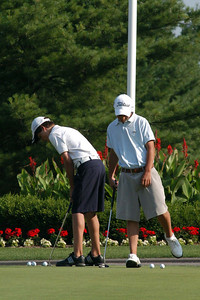Stop 2 was held at the Copetown Golf Club on Monday July 5.  Under sweltering heat and humidity, Nick succumbed to the heat and turned in a 92, good for 40th (42nd for the Tour) while Ben shot a respectable 90, good for 34th (28th for the Tour).