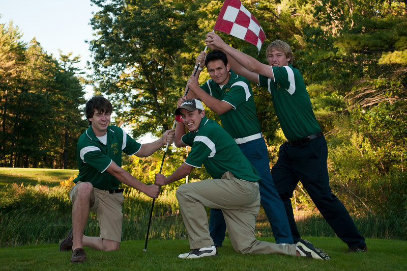 2010 - Brady Golf Team Seniors