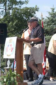 Garry McKay announces that Hamilton wins the 2007 CANUSA Golf Championship