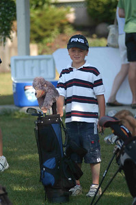 July 6, 2007 The Cousins at the Paris Grand Golf Course for the CN Future Links Golf Skills Event