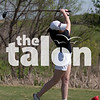 The Golf Teams team competes in the district tournament District Golf at Argyle High School in Argyle, Texas,April 8, 2019. (Jacob Lormand / The Talon News)