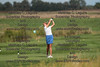 Findlay's Cameron Heiserman watches and reacts to her tee shot on Hole 6.