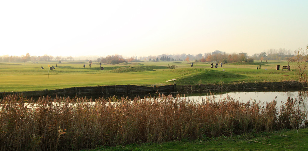 8th and 14th green's 13th tee