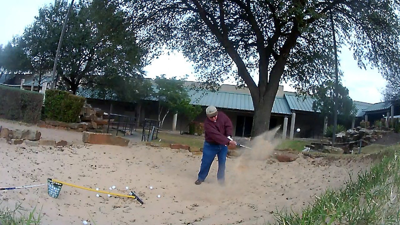 Golfsmith Sand Trap Practice session 9:01