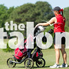 The Lady Eagles Golf Team competes in the District Golf Tournament at Van Zandt Country Club in Canton, Texas, on April 25, 2018. (Lauren Landrum / The Talon News)