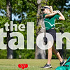 The girls golf team competes at the UIL Regional tournament. Girls Region Golf at Van Zandt Country Club in Canton, Texas, on April 25, 2018. (Campbell Wilmot / The Talon News)