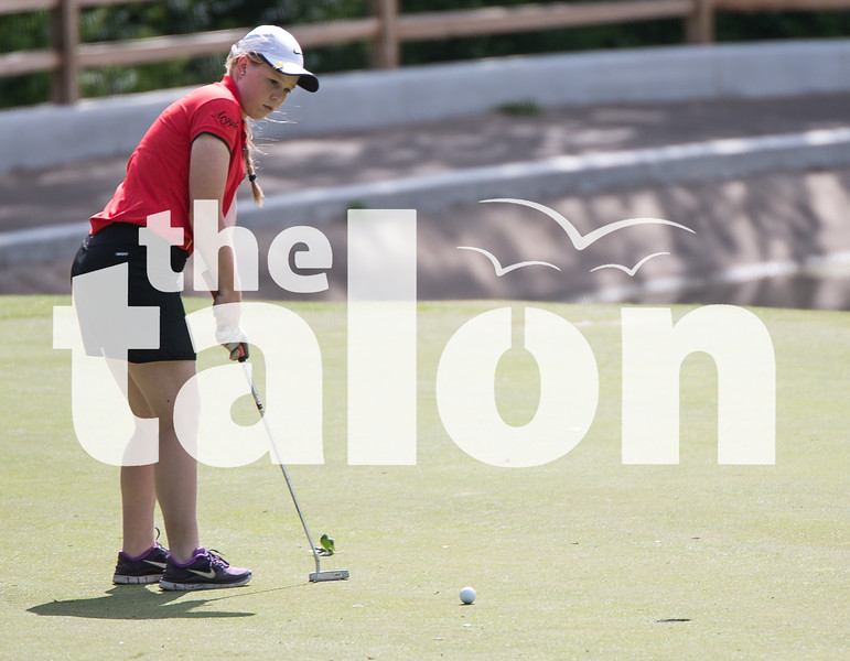 The boys' and girls' golf team attend the UIL state championship tournament at Onion Creek Golf Course on April 28, 2015. (Photo by Annabel Thorpe/ The Talon News)