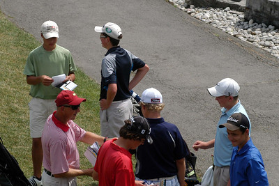 Friday July 22, 2011:  Plus 38'C admidst a heat wave, the Dundas Junior CC starts