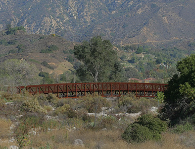 One of the bridges on the Angeles National Golf Course