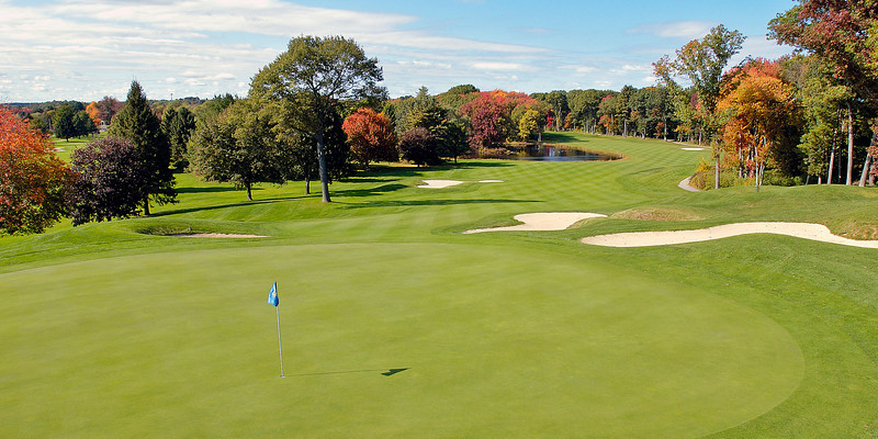 Hole #18, Nashawtuc Country Club, Concord, MA