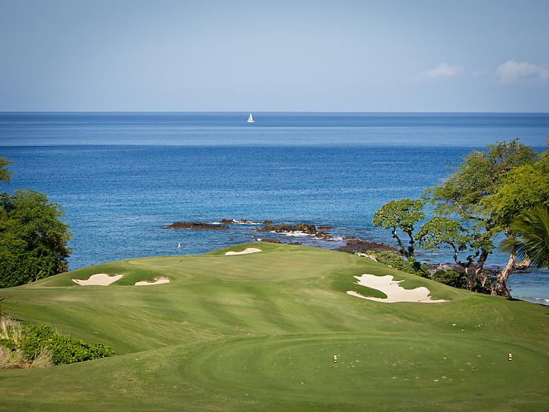 Mauna Kea Golf Course, Hole #11, Big Island, Hawaii