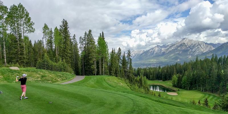 Hole #9, Stewart Creek, Canmore, Alberta, Canada