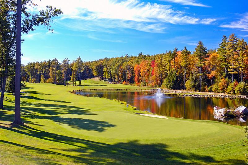 Hole #18, Wedgewood Pines Country Club, Harvard, MA