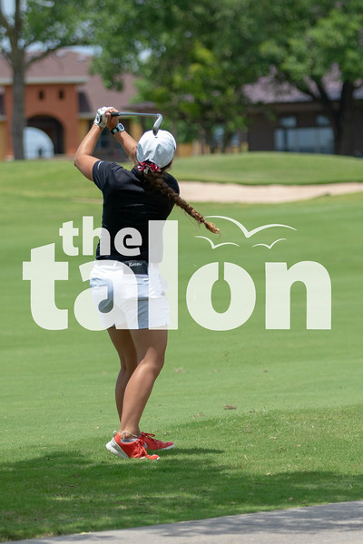 The Lady Eagles Golf team competes in the UIL 4A State Championship tournament on May 14, 2019. (Karina Navarro/ The Talon News).