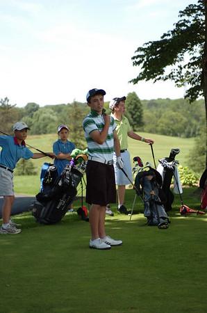 Golf Swings at Flamborough - July 4, 2008