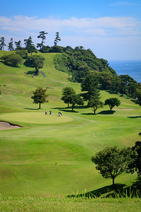 Kawana, Fuji Course - 15th tee box on the hill in the distance