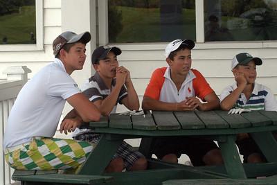 Sartori, Chong, Sartori and Chong ... members of the 12 man HGCC Caddies Team