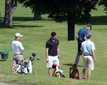 Sunday June 2, 2013 - Tied 22nd on the 2012 Tour, Nick missed the exemption cut-off by 2 places and required to qualify at Chedoke.  Despite virtually no practice, Nick carded a very respectable 79, good for a T7th and a starting rank of #22 for the start of the tour.  Pat missed the 2012 tour because of his  broken ankle and needed to qaulify as well.  A fantastic 77 off by 2 from the low of the day of 75, Pat starts the 2013 tour as #21.  Cousin Ben carded also a 79 good for a #22 start.
