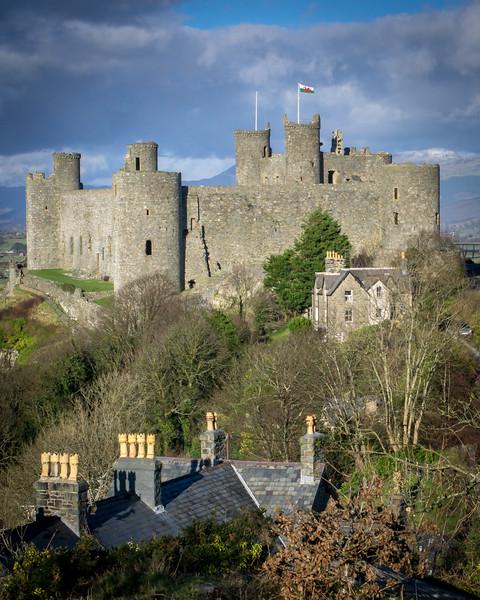 Harlech, North Wales