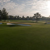 The practice area. Can you believe that is real grass !