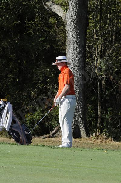 Men's Golf Fall Match