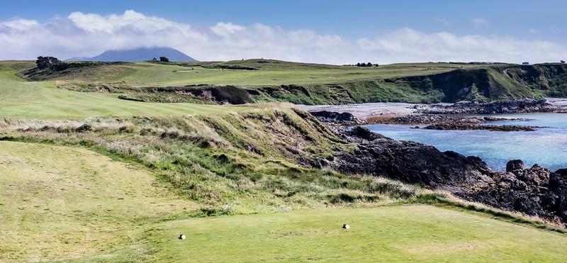 Nefyn and golf course, N Wales
