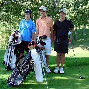 Nick's Birthday Golf w David - Friday August 28, 2010