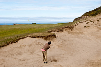 #13 provides a chance for a sandy.