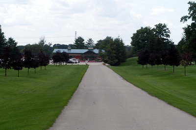 Entrance to the course
