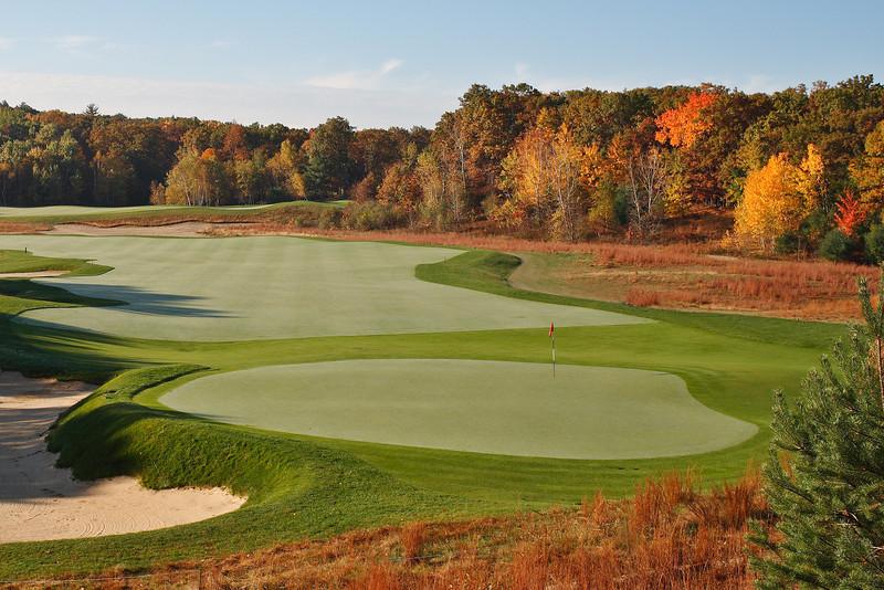 Hole #17 Red Tail Golf Club, Devens MA