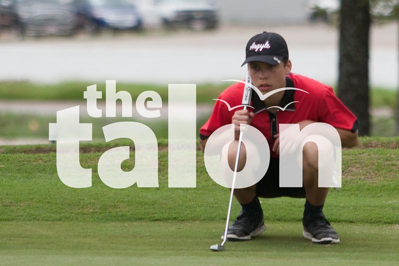 Region boys golf tournament at Van Zandt Country Club in Canton, Texas.