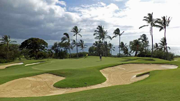 Round of Golf - Wailea Gold Course