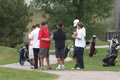 September 12, 2007 xx golfers out at Rock Chapel's par 28 for St. Mary's 1st Golf Tryout