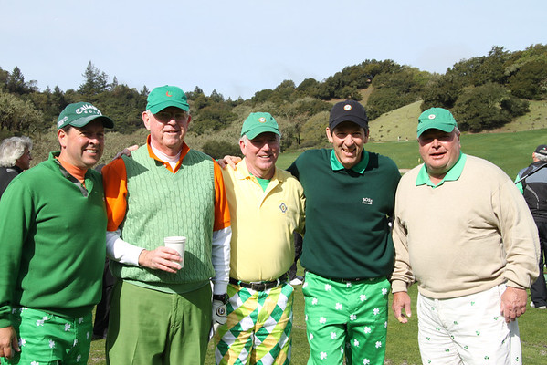 St. Patrick's Day Fourball 2012