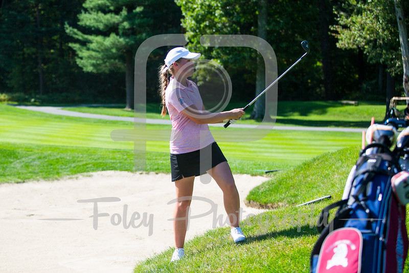 Sept. 24, 2017, Blue Hills Country Club, Canton, MA: during the 2017 Boston College Invitational.